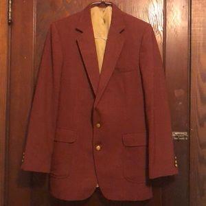 Red J.M. Haggar Premium Stretch Suit